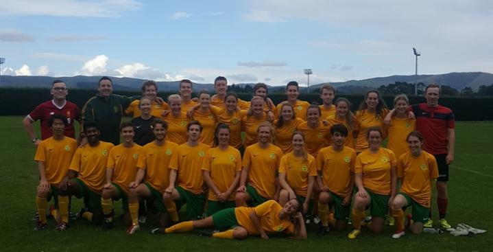 VUWAFC Men's and Women's First Team